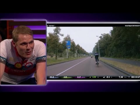 Luuk Ikink Test Het Parcour Van De Tour - RTL LATE NIGHT