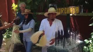 Museo vivo del henequén, en Haciena Sotuta de  Peón, en Yucatán