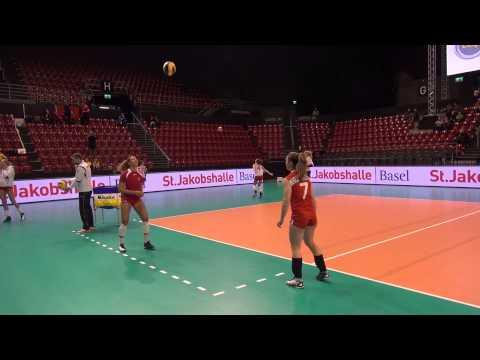 2013 Top Volley - Team Suisse Aufwärmen und fun