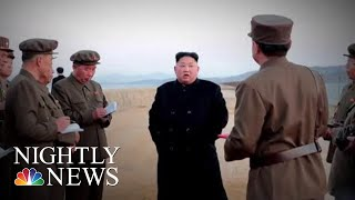 North Korea Claims It Has Tested New 'Ultramodern' Weapon | NBC Nightly News