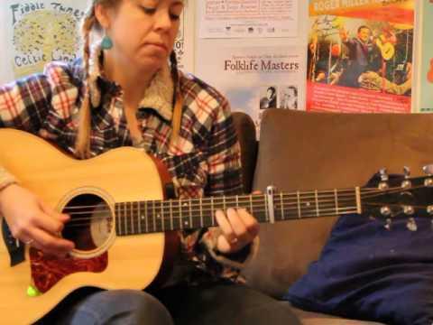 acadian tune -vieux cotillon des iles- flatpicked on acoustic guitar