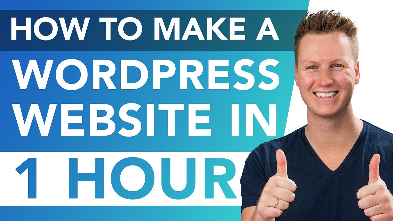 How To Make A Website Within One Hour | WordPress Tutorial