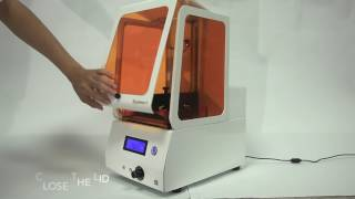 Instruction Video Of  Complete SLA 3D Printer