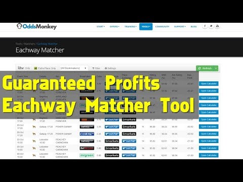 Guaranteed Profits On Each Way Horse Racing Matched Bets