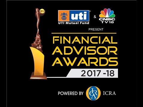 UTI Mutual Fund and CNBC-TV18 Present Financial Advisor Awards 2017-18