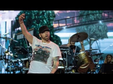 Eminem  My Name Is  The Real Slim Shady  Without Me  @ Roskilde Festival 2018
