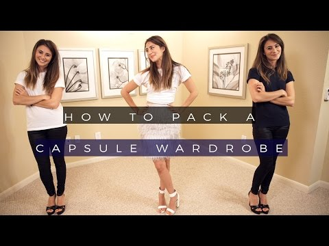 Packing for business travel: How To Pack A Capsule Wardobe