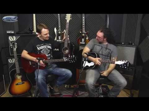 Epiphone EJ-45 and Caballero Acoustic Guitars