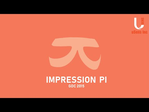 Impression Pi by uSens Inc. at GDC 2015