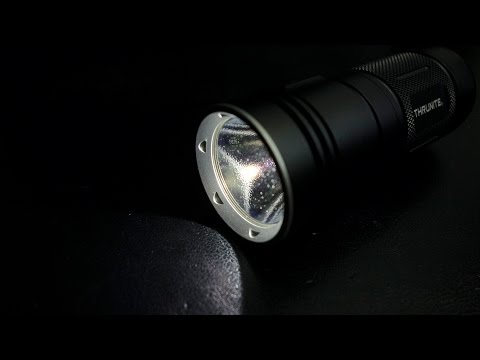 *NEW!* Thrunite TN4A Review: 4xAA 1150 lumen Compact Th ...