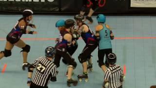 D2 Game 4: Brandywine Roller Derby v Blue Ridge Rollergirls
