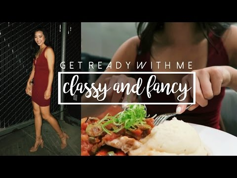 GET READY WITH ME: Classy & Fancy | Makeup, Hair, & Outfit ✨