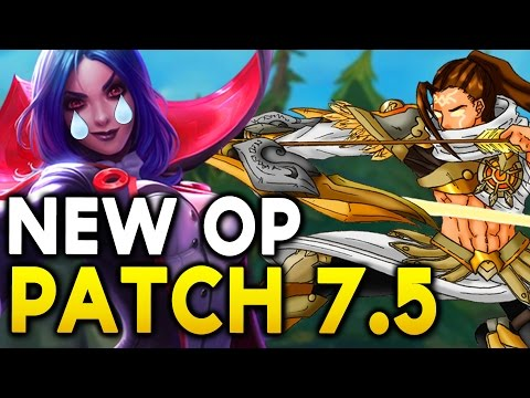 NEW OP CHAMPS IN 7.5 - BIG ADC CHANGES! LEBLANC RIP? - Champs to watch / Nerfs / Buffs