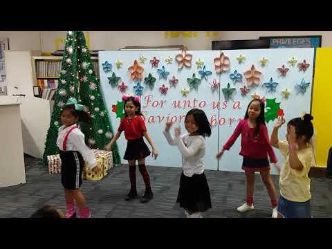 Christian Harvest Academy Grade 1 to 3 Boom Boom Dance