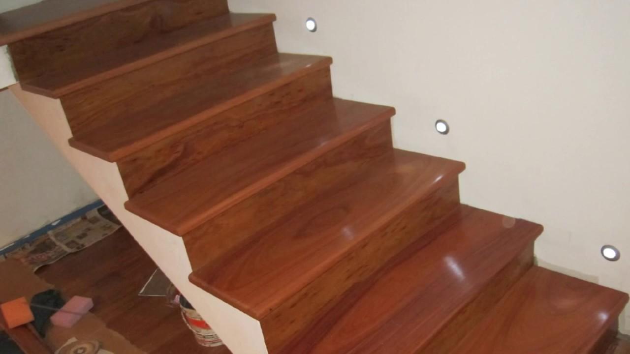 Pasos de escalera de madera rpc 951816019 982301646 fijo - Escaleras de madera pintor ...
