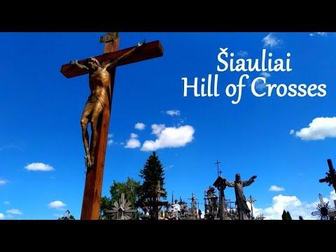 Šiauliai ~Hill of Crosses~ Beautiful Lithuania [HD]