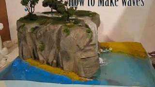 Make Diorama Water Effects