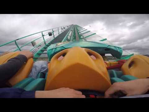 Leviathan Front Seat - Canada's Wonderland Roller Coaster