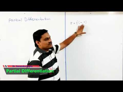 Lecture-1  Partial Differentiation and Euler Theorem in Hindi