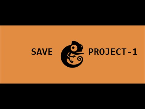 How to save project in gns3 [part 1]