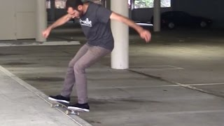 LANCE LIVE SKATE SUPPORT 50 50s ON A CURB