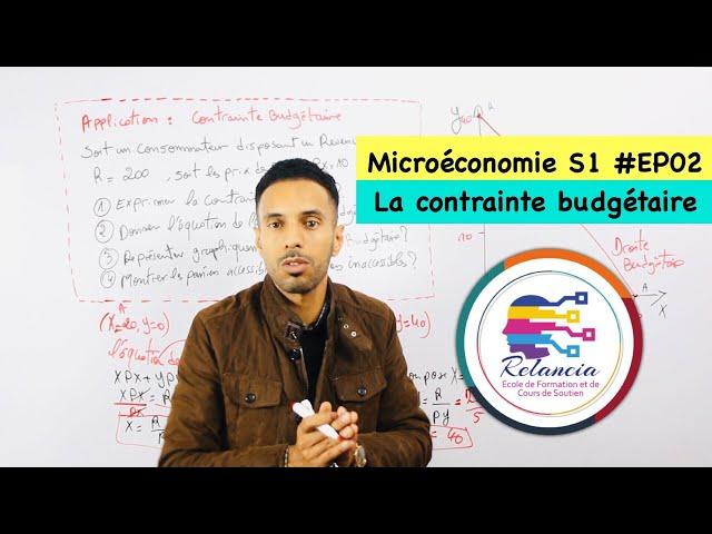 Microéconomie S1 #EP02 la contrainte budgétaire