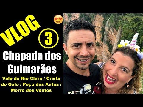 VLOG 3 – Vale do Rio Claro, Crista do Galo, Poço da Anta, Morro dos Ventos ::: Chapada dos Guimarães