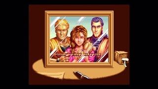 Art Of Fighting Anthology:Art Of Fighting 1 Gameplay