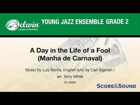 A Day in the Life of a Fool arr. Terry White - Score & Sound