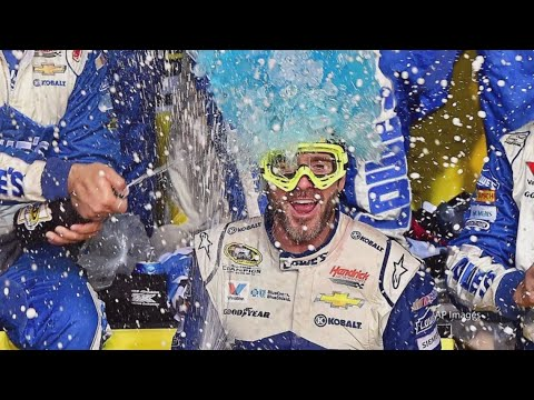Jimmie Johnson proud of ending NASCAR career with 7 titles