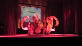 Фестиваль в юности 2013. Танец огня(Девочки умнички. Всё супер., 2013-04-23T14:14:25.000Z)
