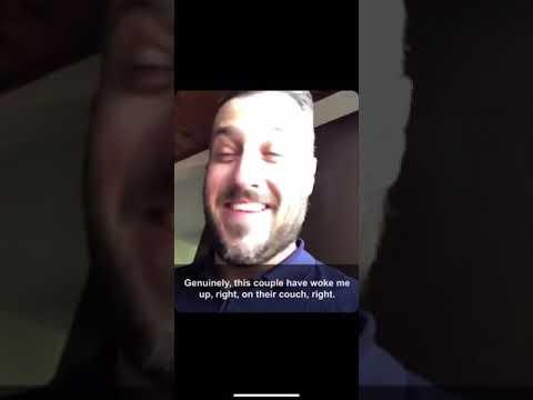 None - WATCH: The Nicest Drunk Intruder Ever
