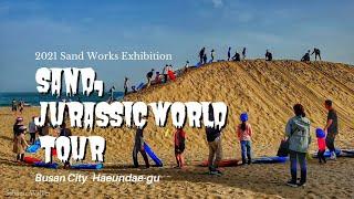 [4K] Sand,Jurassic World. Busa…