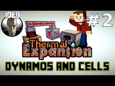 Thermal Expansion Tutorial - Dynamos and Cells - Minecraft Mod