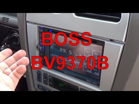 Review || Boss BV9370B SD USB BlueTooth Stereo