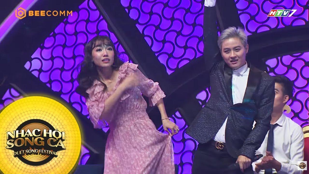 Diệu Nhi suýt ngã khi cùng Thanh Duy nhảy theo hit của Như Quỳnh | Best Cut Nhạc Hội Sòng Ca mùa 2