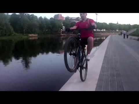 Vilnius dviratis Wheelie Neris Pakrabtė