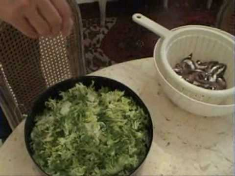Aliciotti E Indivia Cucina Ebraica Romana Youtube