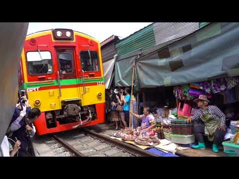 美功鐵路市場-泰國-maeklong-railway-market