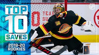 Top 10 Rookie Saves of 2019-20 ... So Far | NHL