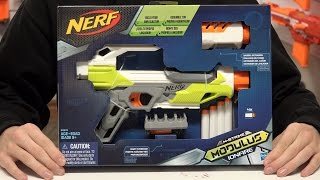 Nerf Modulus IonFire Unboxing and Review in 4K!
