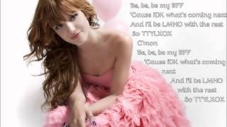 Zendaya ft. Bella Thorne - Something to dance for/ TTYLXOX (Mash-Up) (Lyrics on screen)