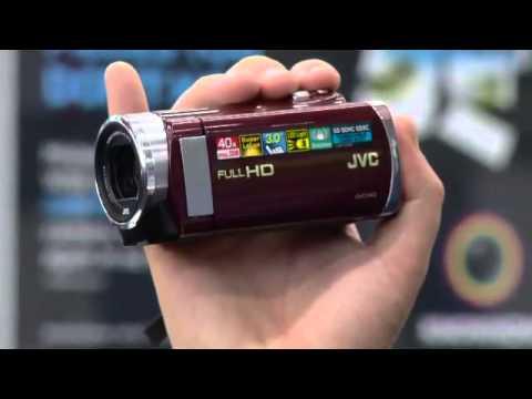 JVC E207 Memory Full HD Camcorder demonstration