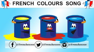 Learn French - Colours Song With Animation - Les couleurs de l