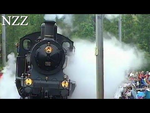 Mit Dampf und Rauch: Schweizer Bahn-Highlights - Dokumentation von NZZ Format (1997)