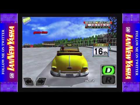Crazy Taxi (iOS), Original map, Arcade rules run, Gus (2015-02-27)