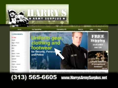 harry's army surplus 2010