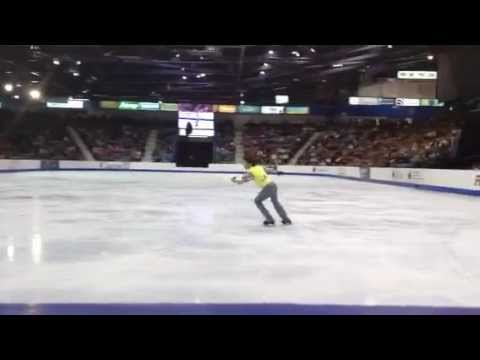 Nam Nguyen 13 year old Canadian figure skating championship