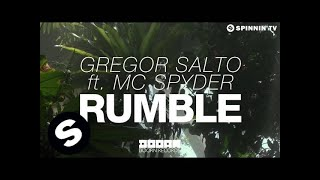Gregor Salto ft. MC Spyder - Rumble (OUT NOW)