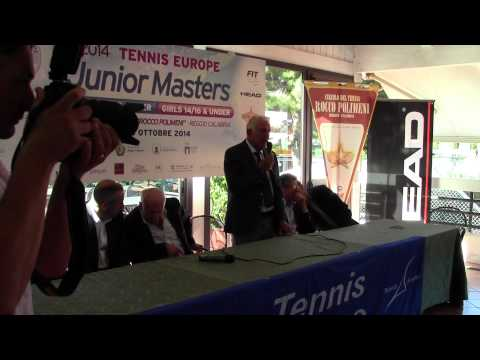 2014 Tennis Europe Junior Masters - Conferenza Stampa